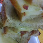 Apple, Brie and Bacon Sandwiches