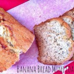 Holiday Banana Bread Mini Loaves {Made with Monk Fruit} #sponsored