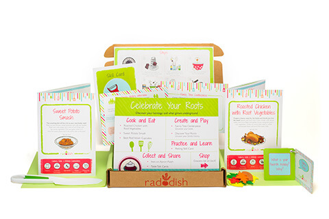 Raddish Cooking Kits for Families