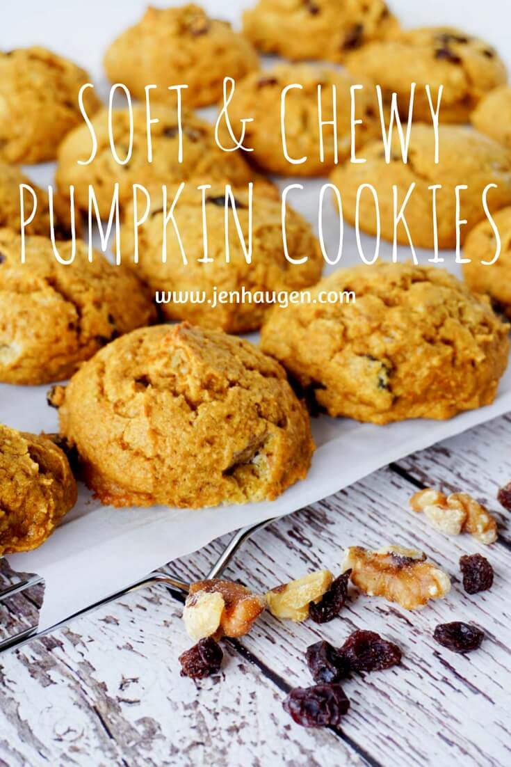 Pumpkin Cookies Kitchen Jen Haugen