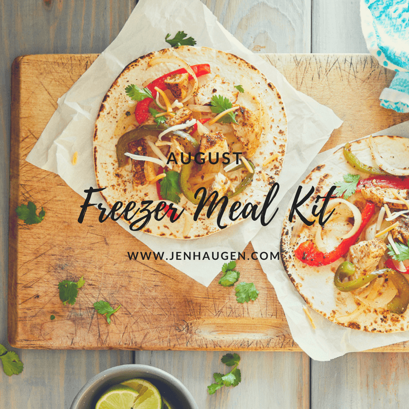 Jen Haugen Freezer Meal Kit of the Month