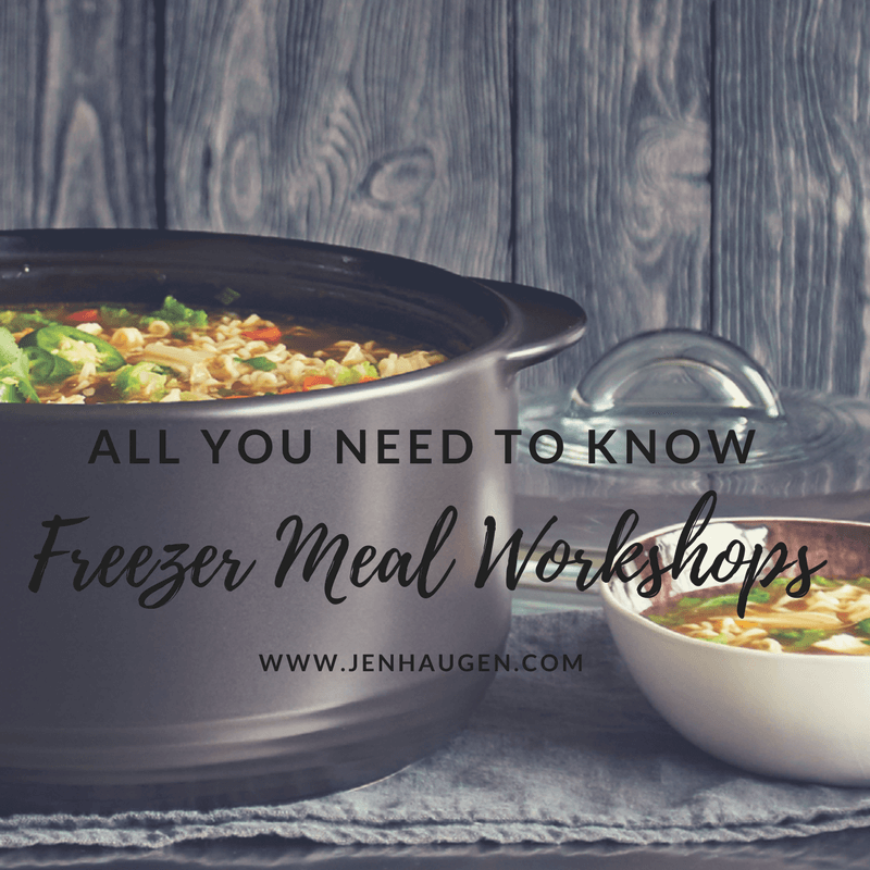 freezer meal workshop how to