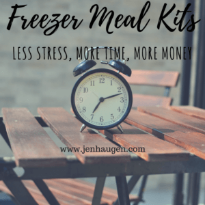 Freezer Meal Kit September Jen Haugen