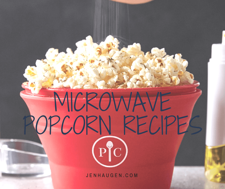 Microwave Popcorn Recipes