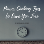 Power Cooking Tips