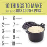 Rice Cooker Plus Recipes