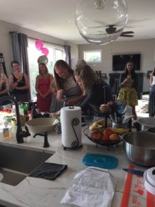 Hosting a Pampered Chef Party with Jen
